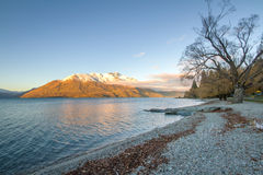Queenstown in New Zealand. Stock Images