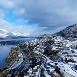 Queenstown - New Zealand. Created by dji camera Queenstown new zealand Royalty Free Stock Photography
