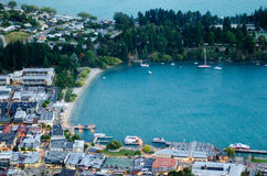 Queenstown New Zealand Stock Photo