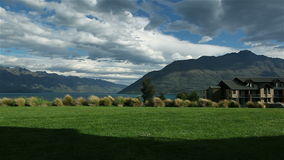 Queenstown New Zealand stock footage