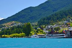Queenstown New Zealand Travel Stock Image