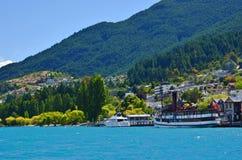 Queenstown New Zealand Travel Stock Image