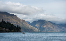 Queenstown New Zealand view. Royalty Free Stock Photos