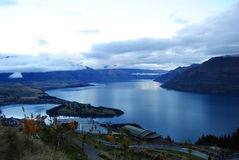 Queenstown Newzealand. Photo in Queenstown lake wakatipu New zealand Royalty Free Stock Images