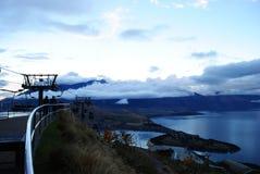 Queenstown Newzealand. Photo in Queenstown lake wakatipu New zealand Stock Photo