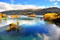 Queenstown, Nieuw Zeeland stock fotografie