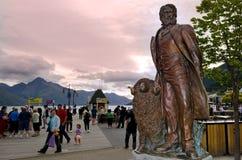 Queenstown Nieuw Zeeland royalty-vrije stock foto's