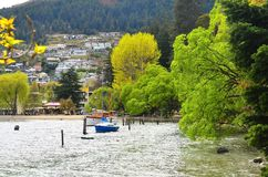 Queenstown, Nouvelle Zélande Photographie stock