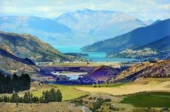 Queenstown Nova Zelândia foto de stock royalty free
