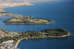 Queenstown, Nueva Zelandia Imágenes de archivo libres de regalías