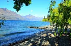 Queenstown Nuova Zelanda fotografia stock libera da diritti