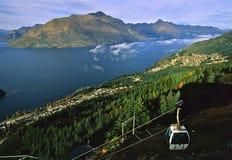 Queenstown, Nuova Zelanda immagini stock libere da diritti