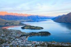 Queenstown Nuova Zelanda immagini stock libere da diritti