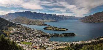 Queenstown, Nuova Zelanda Fotografia Stock Libera da Diritti