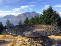 Queenstown, Nuova Zelanda - 8 febbraio 2016: Primo piano delle sedere del ` immagine stock