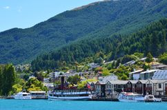 Queenstown Nya Zeeland Royaltyfria Bilder