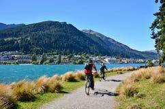 Queenstown Nya Zeeland Fotografering för Bildbyråer
