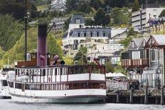 QUEENSTOWN, NZ - 12 ΝΟΕΜΒΡΊΟΥ: TSS Earnslaw στις 15 Νοεμβρίου 2014 Είναι ανοικτό Στοκ Εικόνα