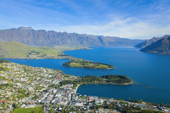 Queenstown Overlook Stock Images