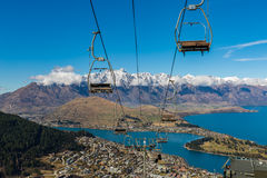 Queenstown overlook Royalty Free Stock Photography