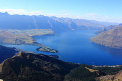 Queenstown panoramic Stock Images