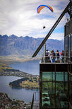 Queenstown parapenting Stock Photography