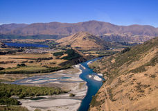 Queenstown and Remarkables range Stock Photography