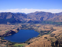 Queenstown and Remarkables range Stock Images