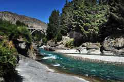 Queenstown River New Zealand Stock Photography