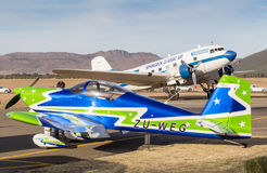 QUEENSTOWN, SÜDAFRIKA - 17. Juni 2017: Flugzeuge RV7 Vans ` s und Lizenzfreie Stockfotos