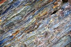 Queenstown Schiste Rock Formation Stock Photo