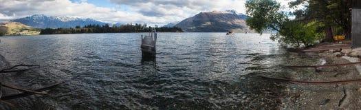 Queenstown See Südinsel NZ Lizenzfreie Stockfotos