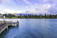 Queenstown in South Island, New Zealand Royalty Free Stock Photos