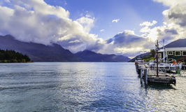 Queenstown in South Island, New Zealand Royalty Free Stock Photography