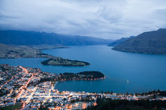 Queenstown Royalty Free Stock Photo
