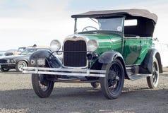 QUEENSTOWN, SURÁFRICA - 17 de junio de 2017: Vintage T Ford modelo Ca Foto de archivo