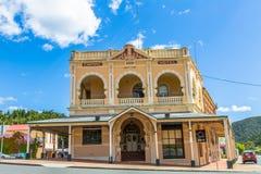 Queenstown Tasmania: Empire Hotel Stock Photo
