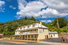 Queenstown Tasmania: Museo della galleria Fotografie Stock
