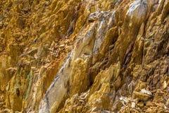 Queenstown Tasmania: pietre dorate tipical Immagini Stock Libere da Diritti