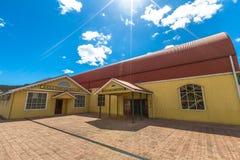 Queenstown Tasmania: Railway Station Royalty Free Stock Photography