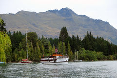 Queenstown tourism Stock Image