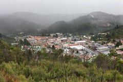 Queenstown west coast Tasmania royalty free stock photo