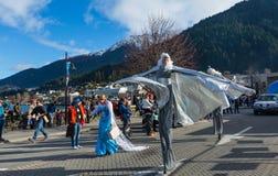 Queenstown Winter Festival 2015 Stock Photos