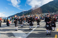 Queenstown Winter Festival 2015 Royalty Free Stock Photos