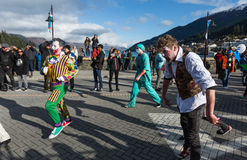 Queenstown Winter Festival 2015 Royalty Free Stock Photo
