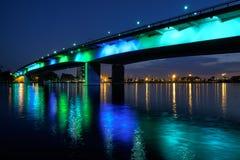 Queensway bridge Royalty Free Stock Photo