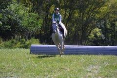 Queeny parka Equestrian nowicjusza klasa 2018 fotografia royalty free