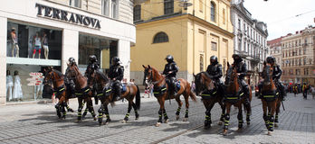 Parade in Brno Royalty Free Stock Photography