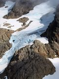 Queest-alb Glacier, Washington state. Royalty Free Stock Photo
