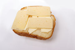 Queijo brindado do sanduíche Imagem de Stock Royalty Free